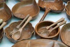 Mercadorias de madeira Fotografia de Stock