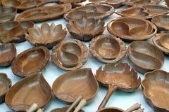 Mercadorias de madeira Fotografia de Stock Royalty Free