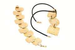 Mercadorias do ouro (jóia) Imagens de Stock