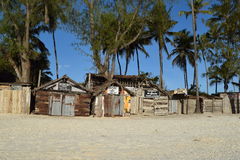 Mercados da lembrança da praia de Zanzibar Imagens de Stock Royalty Free