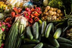 Mercados de Antígua Fotos de Stock Royalty Free