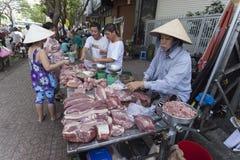 Mercados de Ho Chi Minh Fotografia de Stock Royalty Free