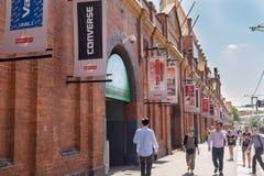 Mercados de la ciudad o del arroz del mercado fotos de archivo libres de regalías