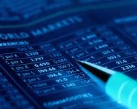 Mercados de moeda Imagem de Stock