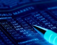 Mercados de moeda Imagens de Stock Royalty Free