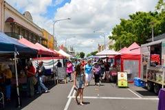 Mercados de rua da herança de Maryborough Foto de Stock Royalty Free