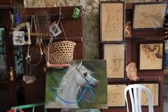 Mercados de Souq en Doha Imágenes de archivo libres de regalías