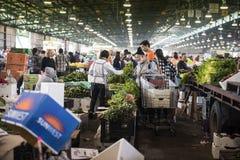 Mercados do legume fresco Imagem de Stock