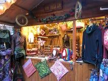 Mercados do Natal de Manchester, Inglaterra Fotografia de Stock Royalty Free