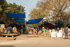 Mercados em Deli central Fotografia de Stock Royalty Free