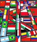 Mercados emergentes ilustración del vector