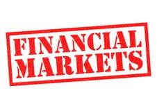 Mercados financieros Fotografía de archivo libre de regalías