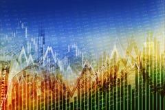 Mercados financieros globales Imagen de archivo