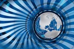 Mercados globais Foto de Stock Royalty Free
