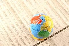Mercados globales Fotografía de archivo