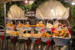 Mercados polacos de la Navidad imágenes de archivo libres de regalías