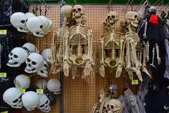 Mercancía asustadiza de la decoración de Halloween Imagen de archivo