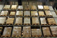Mercancías Fotografía de archivo