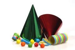 Mercancías coloridas del partido Fotos de archivo
