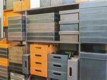 Mercancías de cuero para el hogar decorativo Imágenes de archivo libres de regalías