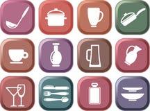 Mercancías de la cocina Fotos de archivo