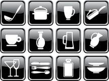 Mercancías de la cocina Fotografía de archivo libre de regalías