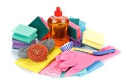 Mercancías del producto químico de hogar Fotografía de archivo libre de regalías