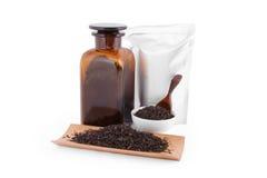 Mercancías del té Imágenes de archivo libres de regalías