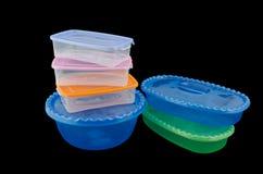Mercancías plásticas Foto de archivo