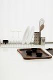 Mercancías simples de la cocina imagen de archivo libre de regalías