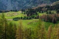 Mercantour & x28国家公园; France& x29; 库存照片