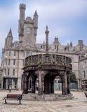 Mercat Cross  in Aberdeen, Scotland Stock Photography