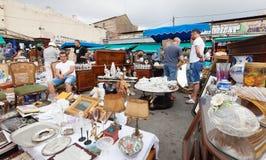 Mercat de Encants flea market  in Barcelona, Catalonia Stock Images