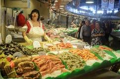 Mercat de Sant Josep de la Boqueria in Barcelona Lizenzfreie Stockfotografie