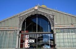 Mercat del Рожденн в Барселоне, Испании стоковые изображения