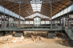 Mercat del Born in the Barcelona Stock Images
