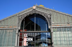 Mercat del Born in Barcelona, Spain Stock Images