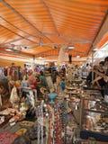 Mercat Gotic antique market Royalty Free Stock Image