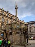 Mercat kors, Edinburg Fotografering för Bildbyråer