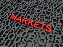 Mercati illustrazione vettoriale