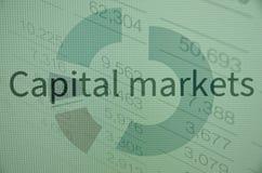 Mercati dei capitali Fotografie Stock Libere da Diritti
