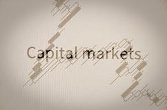 Mercati dei capitali Fotografia Stock