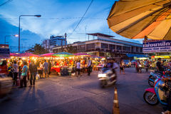 Mercati dell'alimento di Phitsanulok Immagine Stock