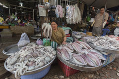 Mercati di Ho Chi Minh Fotografia Stock