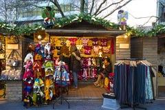 Mercati di Natale a Londra Fotografia Stock Libera da Diritti
