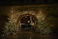 Mercati di Natale di Nurnberg, Germania immagini stock libere da diritti