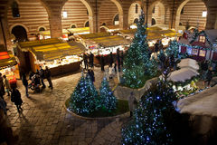 Mercati di Natale a Verona 2015 Immagini Stock