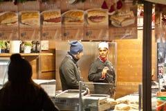 Mercati di Natale a Verona 2015 Fotografie Stock Libere da Diritti