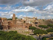 Mercati di Traiano Foto de archivo libre de regalías