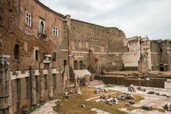 Mercati Traianei, Foro di Traiano, Roma Италия Стоковые Фото